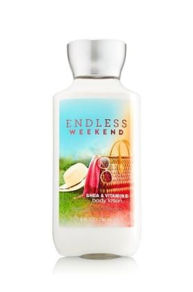 Endless Weekend Body Lotion - An exhilarating blend of raspberry lychee sorbet & sun-kissed magnolia