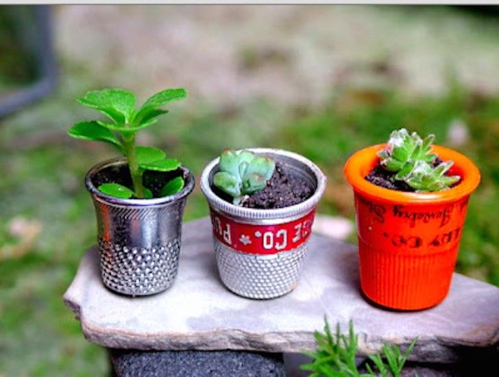 Miniature Garden Designs In Big Flower Pots And Majestic Fairy Garden  Installations Are Probing To Be New Trends Even In Small Garden.
