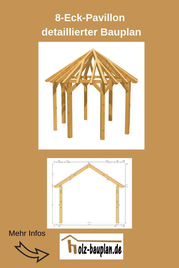 Pavillon Bauplan Grillpavillon Bauen Bauplan Für Pavillon Holz