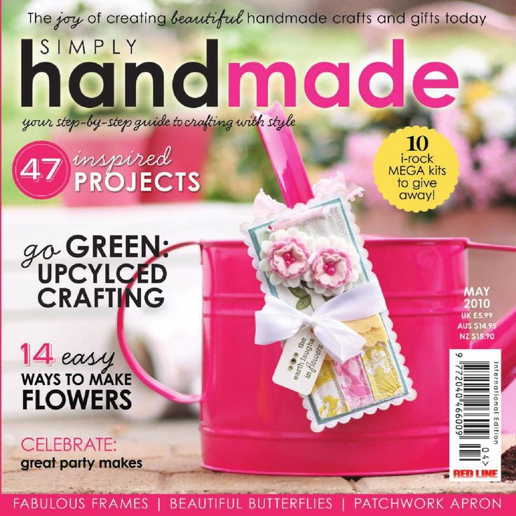 Simply Handmade April/May 2010  Simply Handmade April/May 2010 - info@pizzazzmedia.co.uk