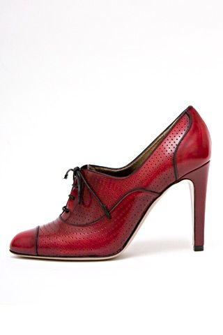 Valentino Red shoe for a strong woman.