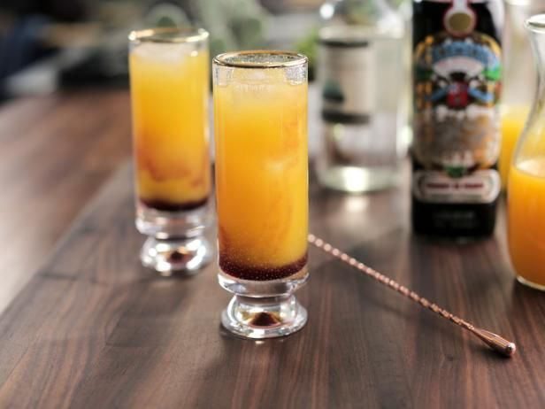 Get Mango Tequila Sunrise Recipe from Food Network