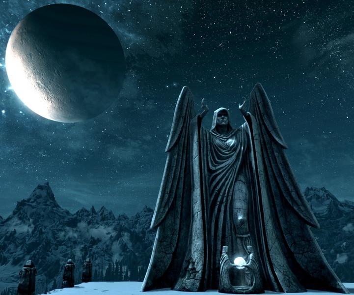 Statue of Meridiaᴏғ Iɴғɪɴɪᴛᴇ, Skyrim Stuff, Videos Games, Videogames Art, Iɴғɪɴɪᴛᴇ Eɴᴇʀɢɪᴇ, Book Inspiration, Meridia Elder Scrolls, Lᴀᴅʏ ᴏғ, Geek Fire
