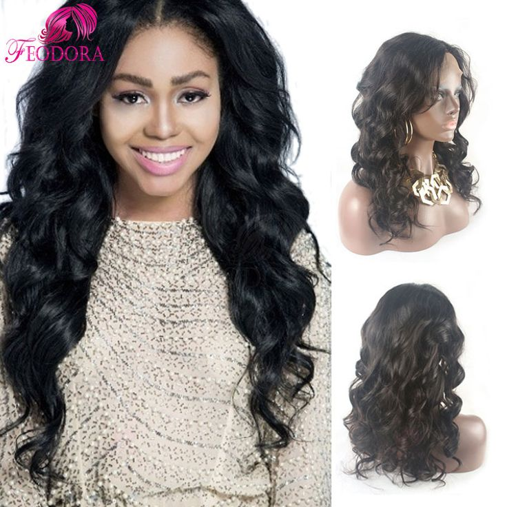 full lace wig brazilian for black women customized lace front wigs hot sale  Grade 7a body