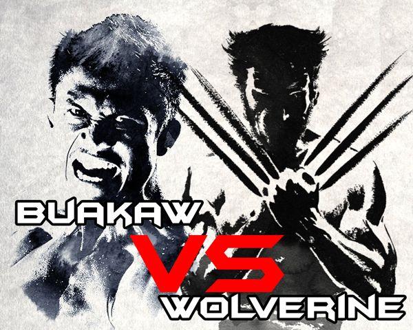 Buakaw-Banchamek-VS-Wolverine #Hugh Jackman #Buakaw
