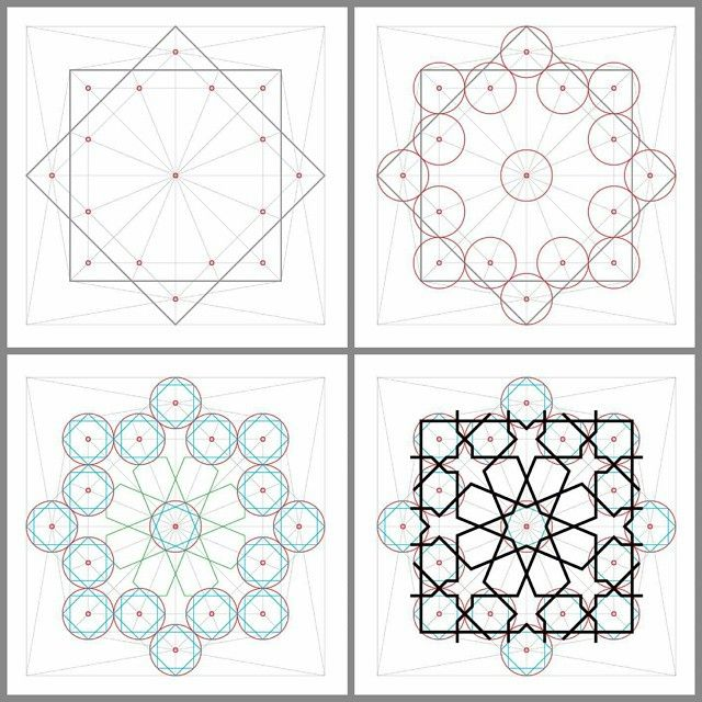 Islamic geometry  زخرفة هندسية إسلامية  By @abdelhalimghodbane #abdelhalimghodbane  #islamicarts #islamicpattern #islamic_art #islamicgeometry #art #illustration