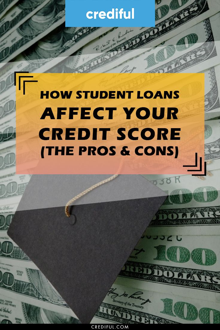How Student Loans Affect Your Credit Score The Pros Cons In 2020 Student Loans Credit Score Money Making Hacks