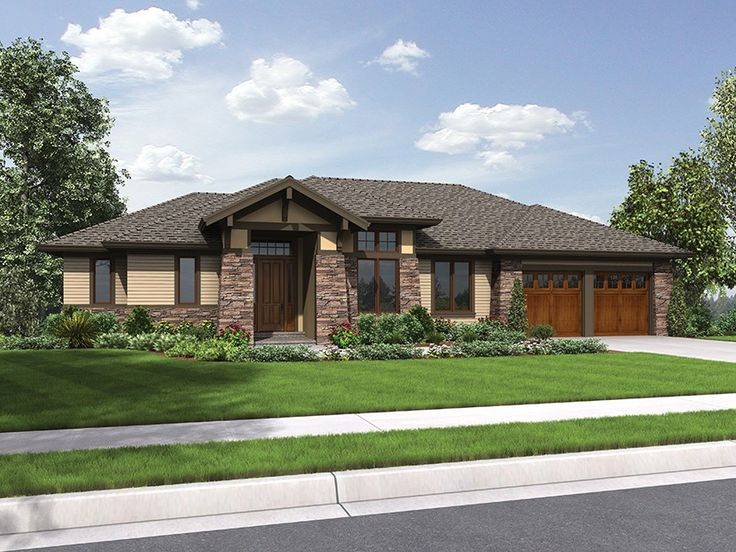 EPlans Craftsman Style House Plan Handsome Ranch 2694 Square Feet And 3 Bedrooms From Code