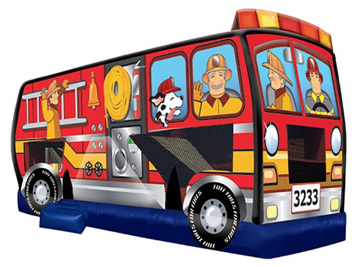 Camión De Bomberos -venta De Inflatable Bouncers - Comprar Barato Precio De Camión De Bomberos - Fabrica Inflatable Bouncers En Estados Unidos