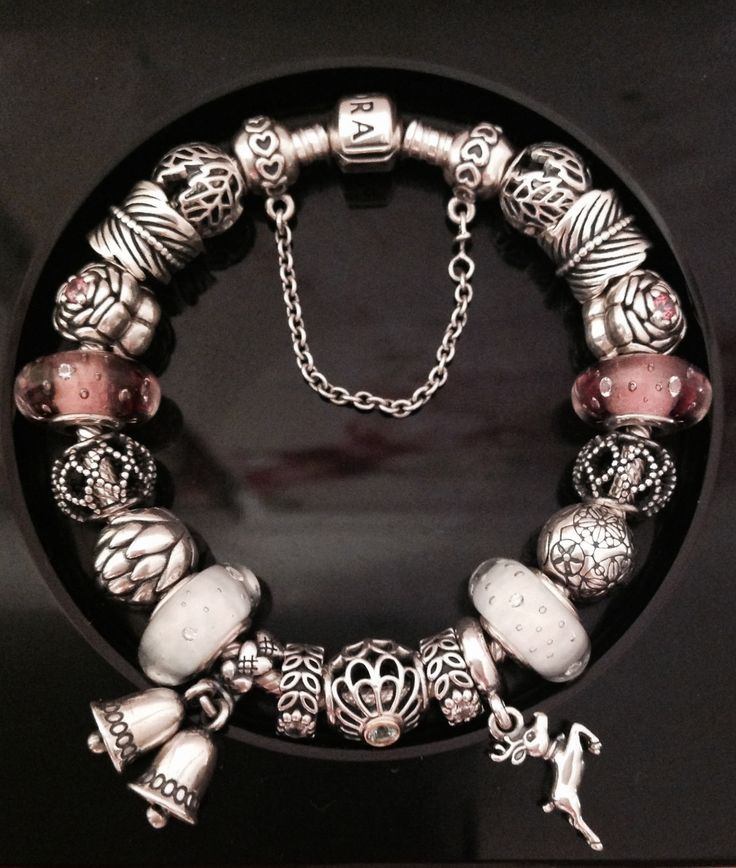 How Much Is A Pandora Charm Bracelet: My Pandora Bracelet With New Christmas Charms Added