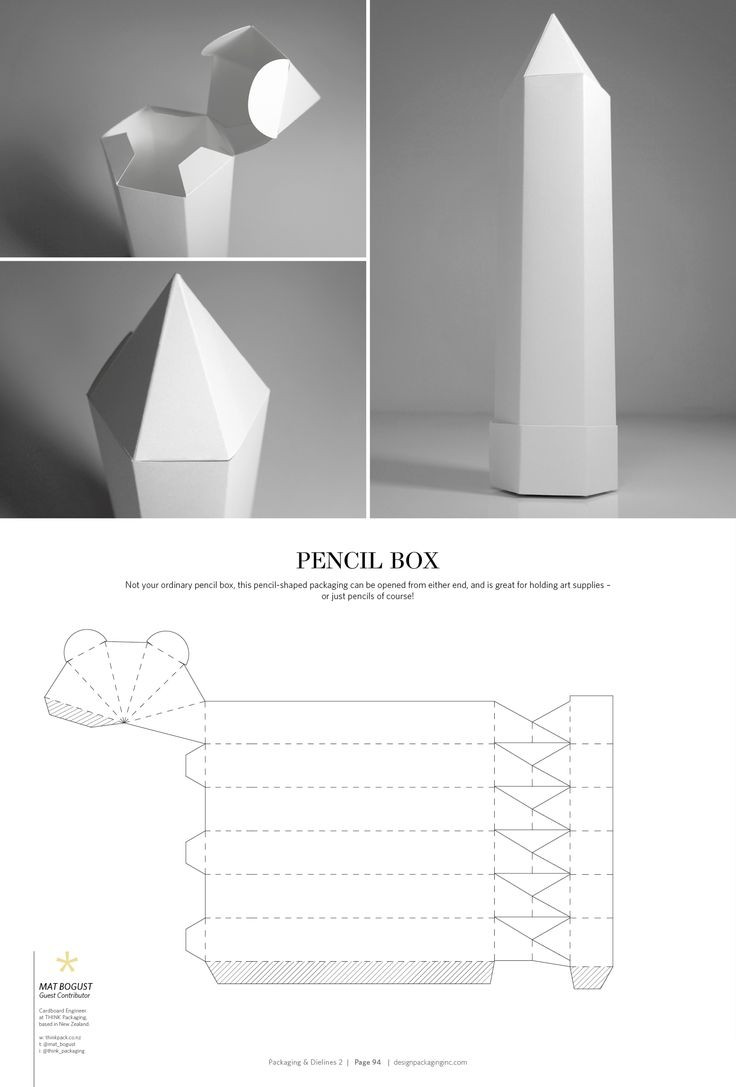 35 best Packaging Structures images on Pinterest | Boxes, Paper ...