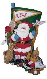 59 best Christmas stockings images on Pinterest   Christmas ...