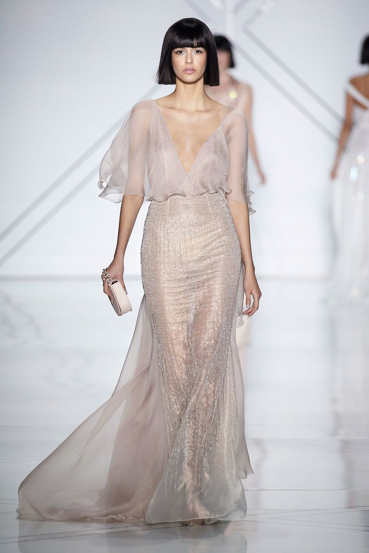 Lemme just pin *all* the Ralph & Russo. Spring 2017  @sommerswim Couture Collection Photos - Vogue