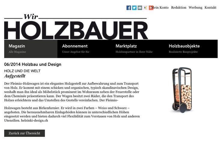 Wir Holzbauer / Fleimio Trolley 2015