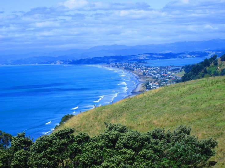 Looking over Ohope