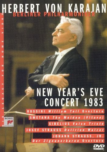 Herbert Von Karajan - His Legacy for Home Video: New Year's Eve Concert 1983 [DVD] [1983]