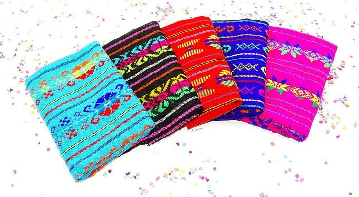 Fiesta party decorations, Bohemian fabric by the half yard, Taco tuesday decorations.