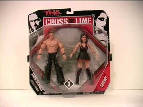 DAFFNEY & DR. STEVIE RICHARDS TNA Cross The Line Figure Review