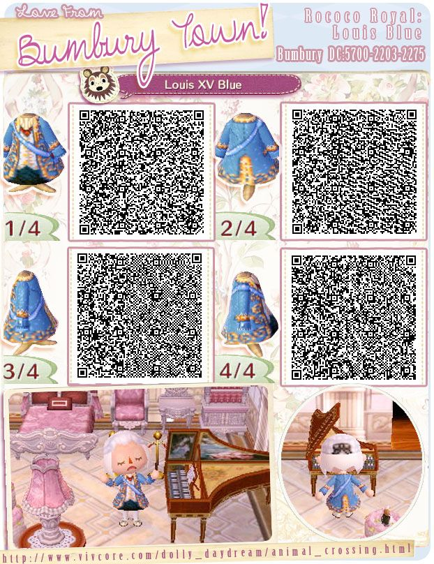 Pin by L. S. on ACNL QR Codes   Animal crossing qr, Animal