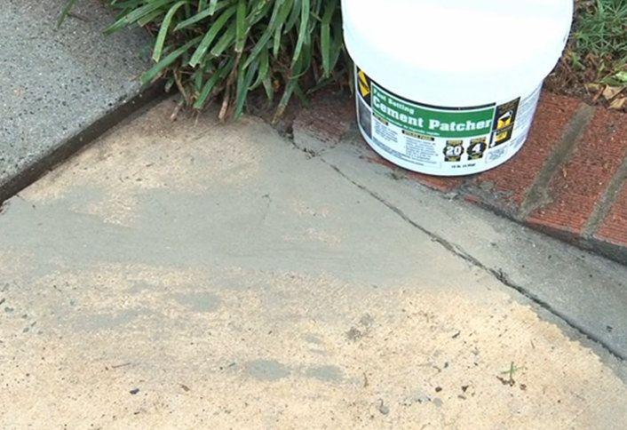 Sidewalk Repair Guide at The Home Depot
