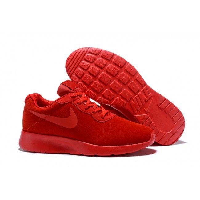 Nike Tanjun SEPI Womens All Red Shoes