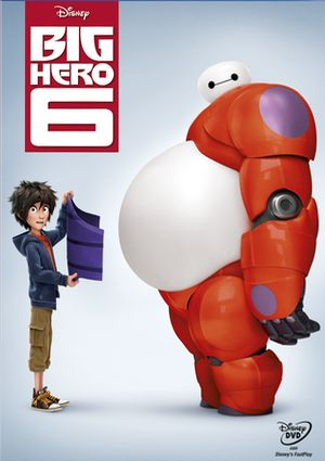 Big Hero 6 - Signatura IDVD BIG - Azul - Código de Barras: 3354402