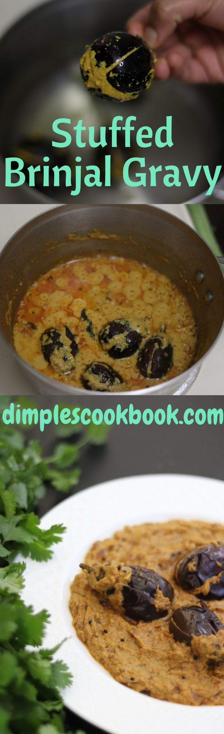 Ennai kathirikkai or Stuffed Brinjal Gravy is a delicious recipe which you can serve with chapati / Naan / Biryani or pulao.