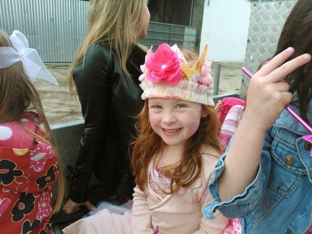 Princess Chloe & her crown