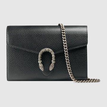 Dionysus leather mini chain bag - Gucci Women's Handbags 401231CAOGN8176