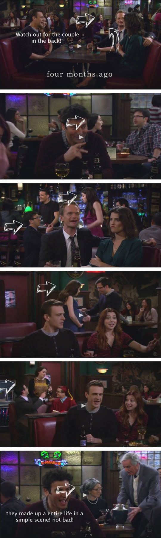 It Was Only One Scene in How I Met Your Mother #HIMYM