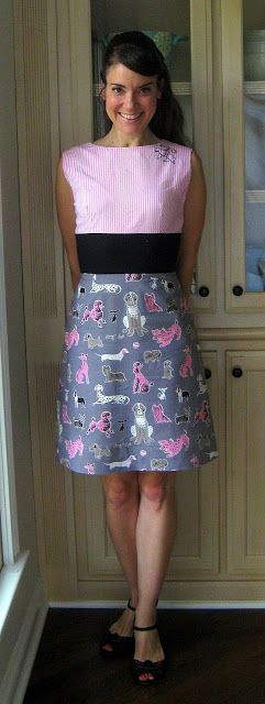 Cassie Stephens: DIY: The Gladys Presley Poodle Dress