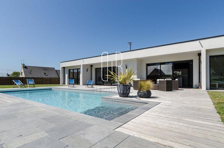 105 best Maisons images on Pinterest Modern homes, Modern houses