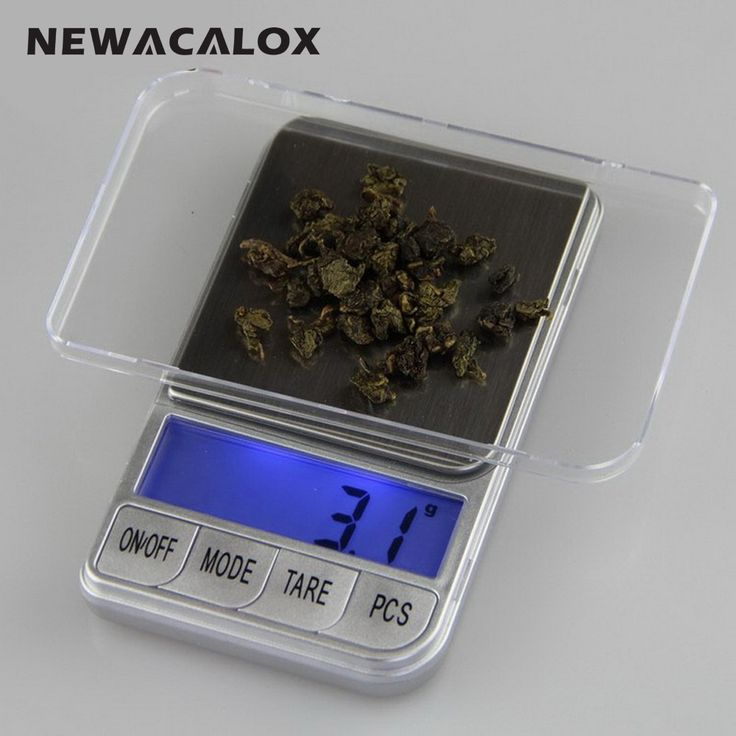 NEWACALOX 300g x 0.01g Precision Digital Weight Scale for Gold Bijoux Sterling Silver Jewelry Scale 0.01 Pocket Electronic Scale