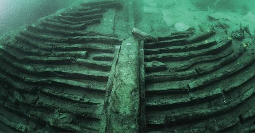 In 1986, divers discovered this 2,000 yr old Roman shipwreck off the coast of Grado, Italy. Study of the shipwreck revealed that the ancient Roman engineers had built in a hydraulic system which allowed the ship to carry an aquarium with live fish.