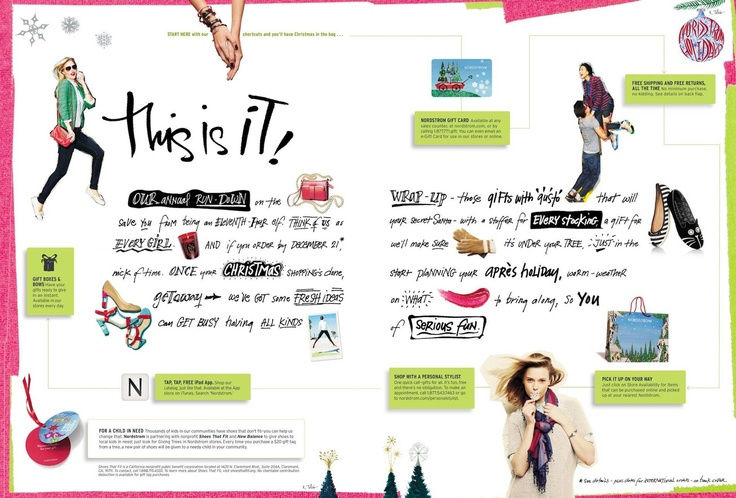 Nordstrom December 2012 Gifts with Gusto Catalog