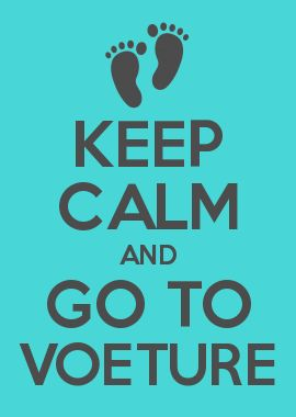 KEEP CALM AND GO TO VOETURE