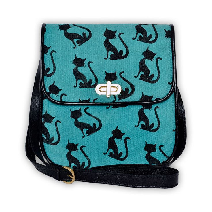 7924896d065 Colorful Cat Purse NWT   Pinterest   Cat purse, Cross body bags and Cross  body