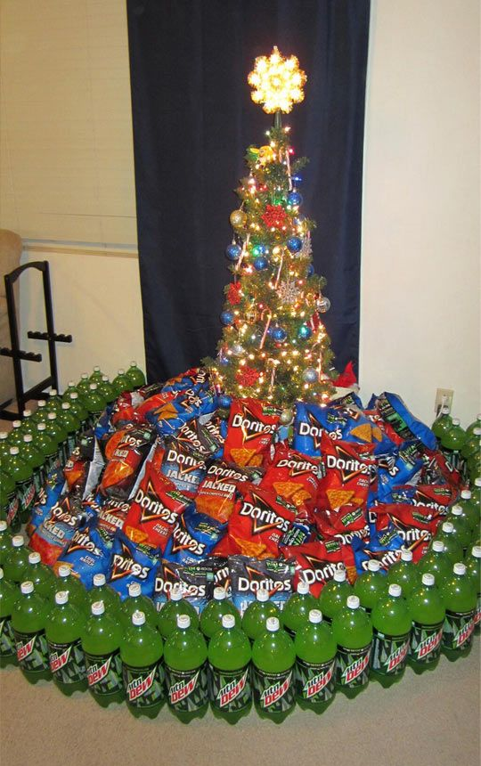 Epic Christmas tree…if you're gunning for diabetes and obesity.