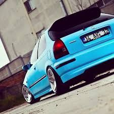 Baby Blue Honda Civic #lowered # sweet ride #6th Gen  ♠... X Bros Apparel Vintage Motor T-shirts, New and Classic Honda Civics, VTECH cars,  Great price… ♠♠