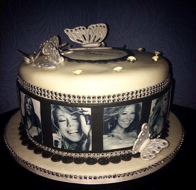 Mariah Carey Cake