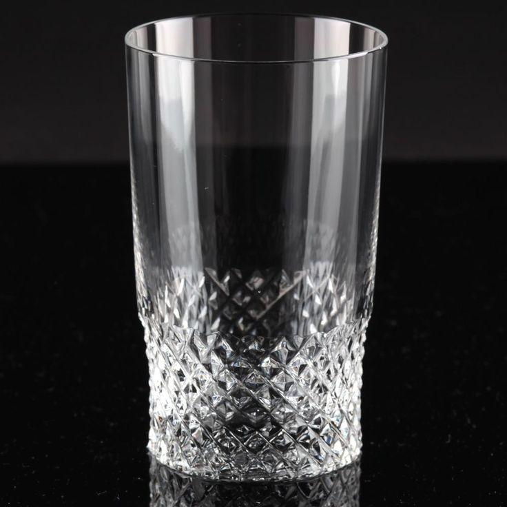 1 Vintage Becher Wasser Glas Spiegelau Evita 60er Jahre 60s Kristall Saftglas W1