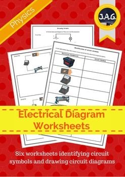Students can work through the sheets identifying circuit symbols and drawing circuit diagrams.  There are six worksheets that can be used in class or for homework.