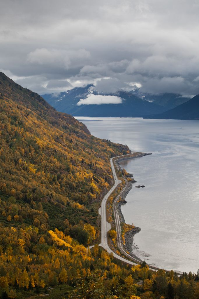 Seward Highway, Alaska (by Phil Westcott)