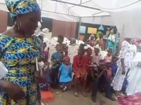 Mighty Voice: Playlet in Yoruba language