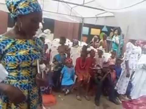 Mighty Voice: Playlet in Yoruba language