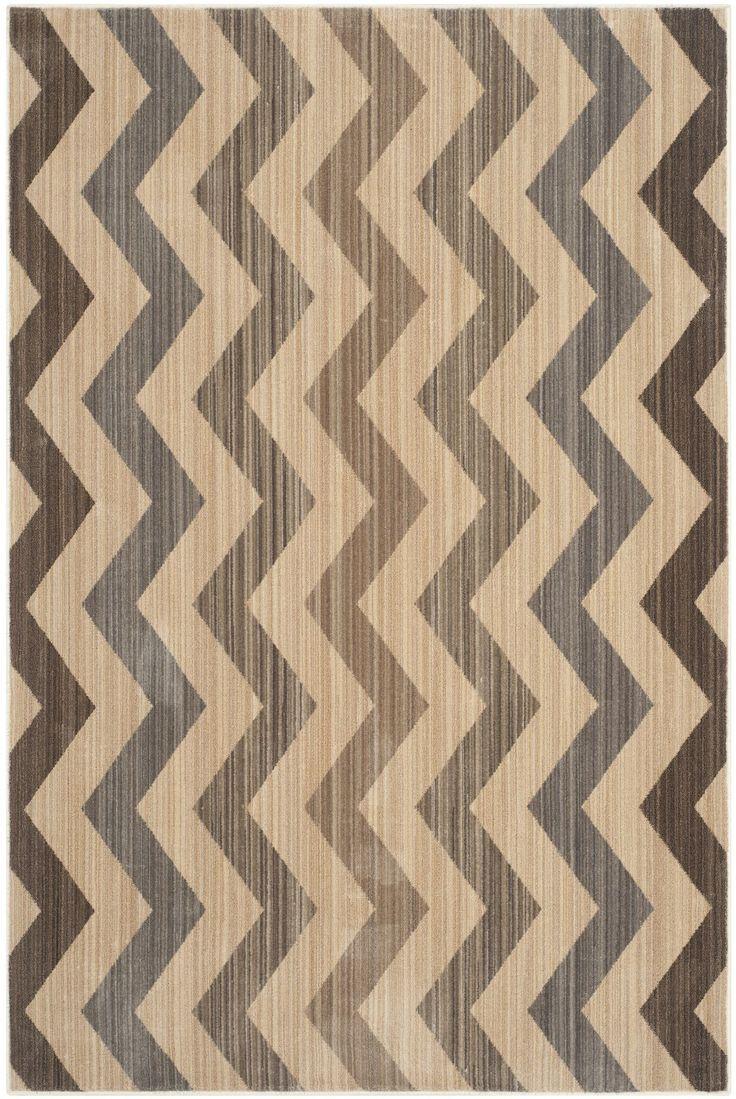 best  chevron area rugs ideas on pinterest  living room area  - infinity browngrey chevron area rug