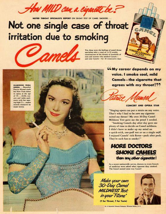 1950s Advertisements Camel's