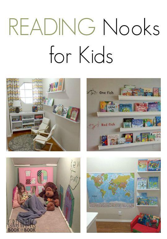 Inspirational Kids Reading Corner Ideas