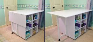 Fold Up Sewing Cutting Table