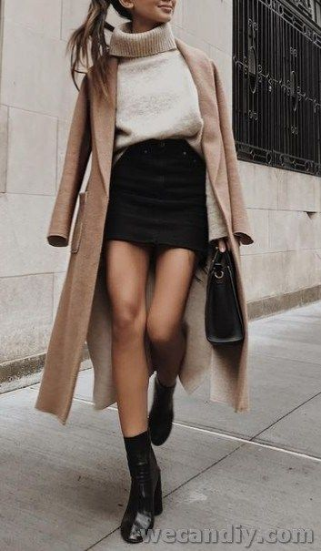 25 Inspiring Women Winter Outfit Ideas Summer coming to an end may feel like a b…